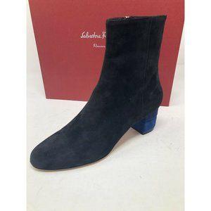 New Salvatore Ferragamo Black Boots Size 6